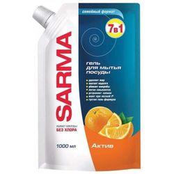 cumpără Detergent veselă Sarma 06546 Gel 1000 ml Activ ДойПак în Chișinău