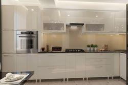 Bucătărie Bafimob Corner (High Gloss) 4.1x0.9m Eco +ball closer Beige