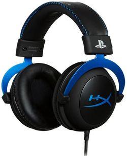 cumpără Cască cu microfon HyperX HX-HSCLS-BL/EM, Cloud PS4, black/blue în Chișinău