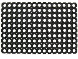 Коврик придверный резиновый 80X120cm резной, толщина 2.2cm