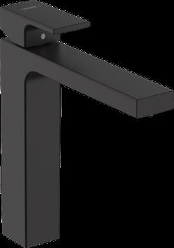 Vernis Shape Baterie pentru lavoar, 190 cu ventil pop-up, negru mat