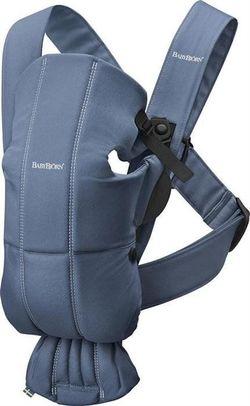 Анатомический рюкзак-кенгуру BabyBjorn Mini Vintage Indigo