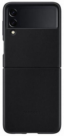 cumpără Husă pentru smartphone Samsung EF-VF711 Leather Cover B2 Black în Chișinău