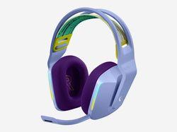 Wireless Gaming Headset Logitech G733,Lilac