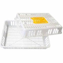 Ящик белый для перевозки птиц и животных