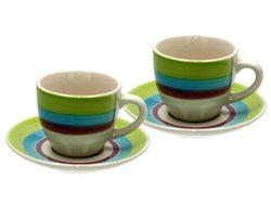 Чашка для кофе 85ml с блюдцeм Tognana Carioca