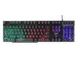 Tastatură pentru jocuri Qumo Unicorn K01, taste rapide de 12 Fn, iluminare din spate, negru, USB