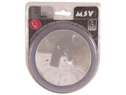 Зеркало круглое D15cm белое