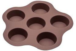 Форма для выпечки на 6 кексов Dolci 26X25.5cm,силикон