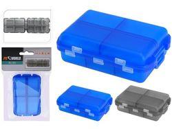 Коробка для таблеток пластиковая 9.5X6cm
