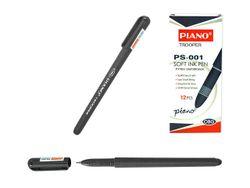 Ручка шариковая PS-001 soft ink,1mm, черная