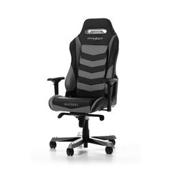 Gaming Chair DXRacer Iron GC-I166-NG, Black/Grey, User max loadt up to 150kg / height 160-195cm