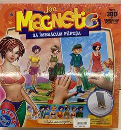 Магнитная игра Imbracam Papusa dupa anotimpuri, код 41262