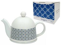 Чайник заварочный 0.45l Tognana Elisabet White, в термочехле