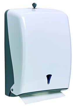 AMALFI WHITE Диспенсер для складных бумажных полотенец