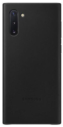 купить Чехол для моб.устройства Samsung EF-VN970 Leather Cover Black в Кишинёве