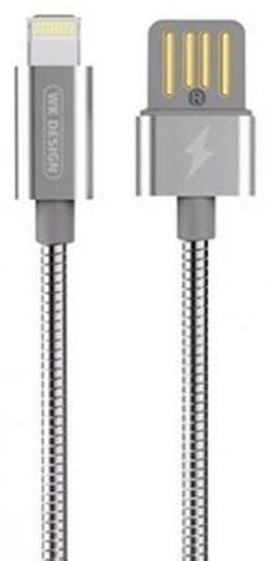 купить Кабель для моб. устройства WK Design WDC-039 Zinc Alloy Data Lightning Gold в Кишинёве