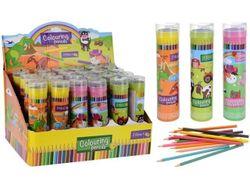 Set creioane colorate 24buc in penar cu ascutitoare