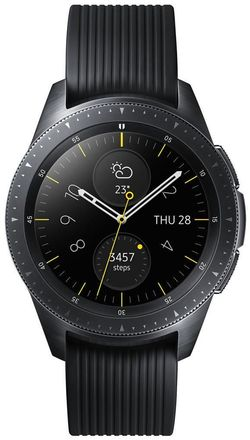 cumpără Ceas inteligent Samsung SM-R810 Galaxy Watch 42mm Black în Chișinău