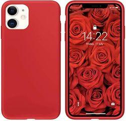 cumpără Husă pentru smartphone Helmet iPhone 11 Red Liquid Silicone Case în Chișinău