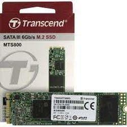 .M.2 SATA SSD 64 ГБ Transcend «TS64GMTS800S» [80 мм, R / W: 500/450 МБ / с, 70/75 000 операций ввода-вывода в секунду, SM2246EN, MLC]