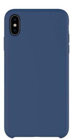 купить Чехол для смартфона Helmet iPhone XS Max, Dark Blue Liquid Silicone Case в Кишинёве