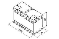 АКБ Bosch S5 12V 110Ah 920EN 393x175x190 -/+ BOSCH