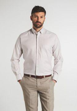 Рубашка ETERNA Белый в полоску