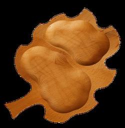 Tava lemn Frunza mica