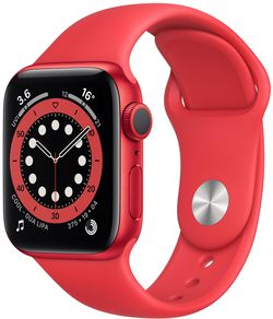 cumpără Ceas inteligent Apple Apple Watch Series 6 40mm PRODUCT(RED) Sport Band (M00A3) în Chișinău