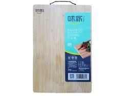 Доска разделочная бамбуковая 45Х30сm с ручкой