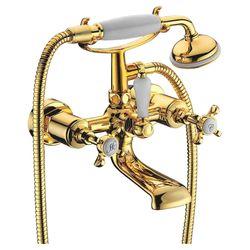 CUTHNA zlato смеситель для ванны двухвентильный, золото