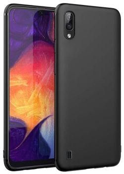 cumpără Husă telefon Screen Geeks Solid Galaxy M10, negru în Chișinău