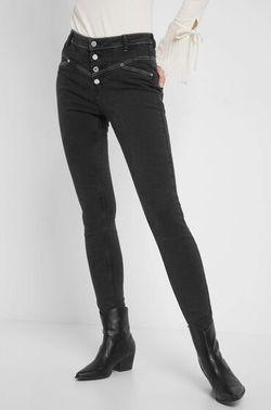 Pantaloni ORSAY Gri incis 311731 orsay