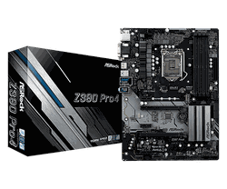 MB ASRock Z390 PRO4 ATX //  CPU