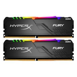 16GB DDR4-3200MHz  Kingston HyperX FURY RGB