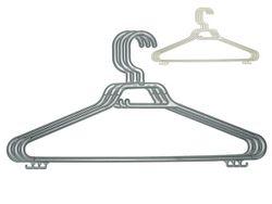 Набор вешалок пластиковых 3шт Maxi Eco