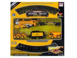 Set calea ferata 86cm, tren+2 masini 4XAA