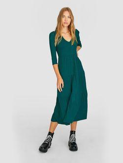 Платье Stradivarius Зеленый 6387/583/531