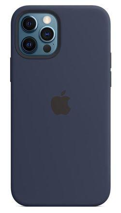 купить Чехол для смартфона Helmet iPhone 12 PRO Navy Blue Liquid Silicone Case в Кишинёве