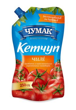 Кетчуп чили Чумак 250гр