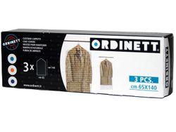Чехлы для одежды 3шт 65X140cm Ordinett прозрачный, п/э