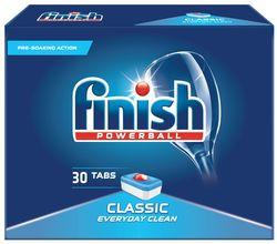cumpără Detergent mașina de spălat vase Finish 0222 Classic 30 tabs Lemon în Chișinău