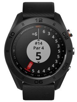 cumpără Ceas inteligent Garmin Approach S60 - Black GPS golf watch with black silicone band în Chișinău