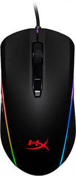Игровая мышь HyperX Pulsefire Surge, оптическая, 800-16000 dpi, 6 кнопок, симметричный, RGB, 100 г, USB