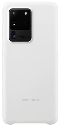 cumpără Husă telefon Samsung EF-PG988 Silicone Cover White în Chișinău