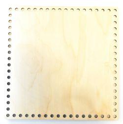 Formă din lemn pătrat, 25 cm