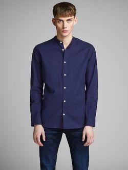 Рубашка JACK&JONES Темно синий 12146109