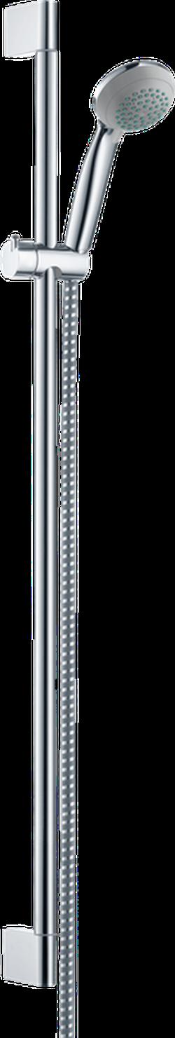 Crometta 85 Set Duș manual Vario cu bară 65 cm