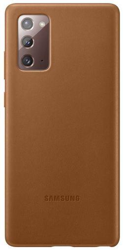 cumpără Husă pentru smartphone Samsung EF-VN980 Leather Cover Brown în Chișinău